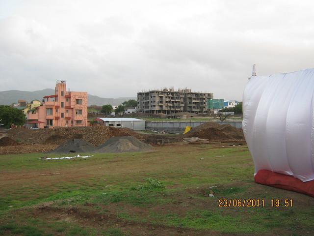 Site of Kumar Properties' Kumar Palmcrest, 2 BHK Flats, off Katraj to Saswad Road, behind Savitiri Palace Mangal Karyalaya, on Khadi Machine Chowk (Kondhwa Road) to Undri Chowk, Pisoli Gram Panchayat, Pune 411 028
