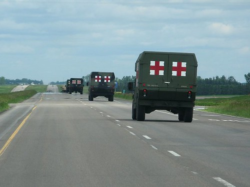 American Red Cross comes to town.