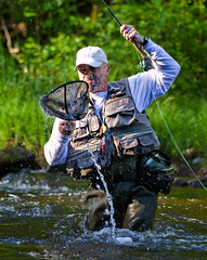 Got you! (garreyf) Tags: river nh flyfishing pittsburg lopstick conncecticut garreyf