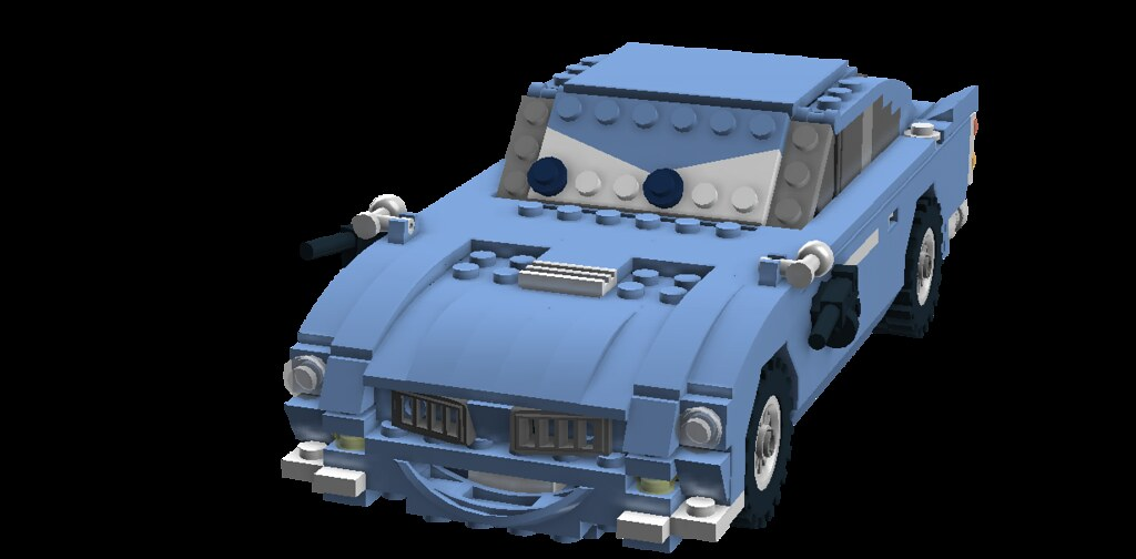 Finn McMissile - Disney / Pixar Cars 2 Movie Character