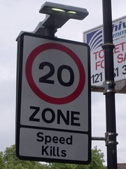The Green, Kings Norton - 20 Zone - Speed Kill...
