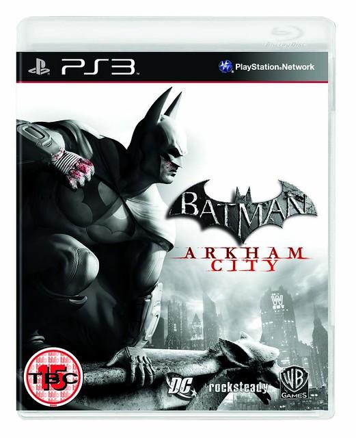 Batman Arkham City Boxart (PS3)