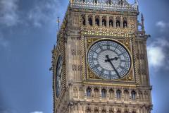 The Big Ben (Alessandro Corradini) Tags: bridge holiday london eye tower westminster abbey rain thames clouds circle square town big foto ben britain great trafalgar line londra hdr doubledecker