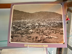 Pilgrim camp during the Hajj