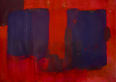 es geht um das Rot (raumoberbayern) Tags: acryl acrylic malerei painting red robbbilder rot sketchbook skizzenbuch abstract