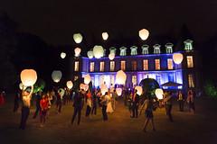 Santeny, France - Engaged ! @Lantern Lights (GlobeTrotter 2000) Tags: colorful palace santeny castle night wedding mariage lantern party light garden france paris happy happiness joy