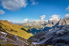 View from Stelvio pass - 2758m Italy (Mich L Photography) Tags: stelvio stelviopass pass mountain passo dello passodellostelvio italy sudtirol lombardia alpi alps ice view ghiacciaio ortles ortler