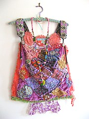 Lilac Gypsy Pinafore top (AllThingsPretty) Tags: pink flowers blue orange black green texture glass vintage gold soft hand tank coconut lace antique top buttons crochet peach silk shell fringe velvet plastic cotton bead apricot lime etsy sequins buckle bohemian rhinestones beaded dyed pinafore embroideries appliqued allthingspretty