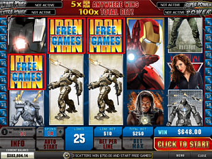 free Iron Man 2 slot scatters