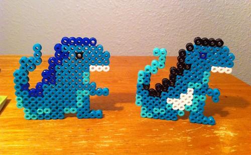 Dino 1 and Dino 2
