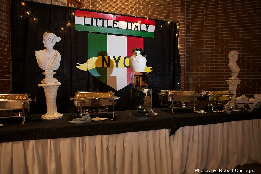 Little italy Food Buffet-Bat-Mitzvah,RI, by Gold Event Planner