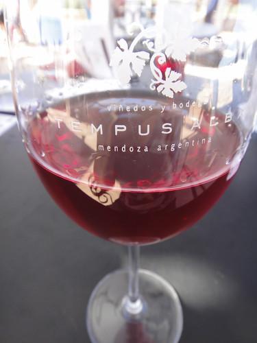 Glass of Rosario at Tempus Alba