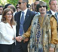 Gheddafi-Marcegaglia