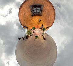 DSC_4657_8_9Enhancer Panorama_planetoid_cropped (Pavel Vorobiev) Tags: santiago panorama mexico nikon downtown centro fave queretaro centrohistorico planetoid d90 qro littleplanet vorobiev montekristum vagonsky pablodegorrion