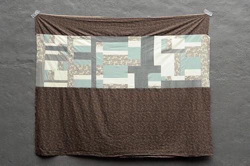 Karyn's Quilt Sampler : Back