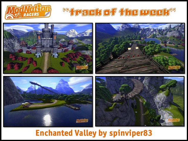 ModNation Racers Track of the Week: Enchanted Valley