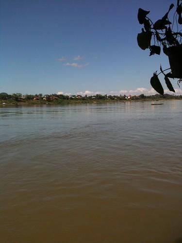 Vue sur le Mekong, à Nong Khai