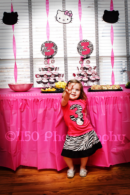 Hello Kitty 3yo birthday party