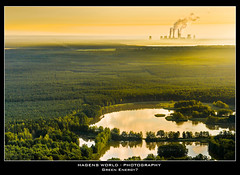 Green Energy? (Hagens_world) Tags: lake building nature water forest see construction arquitectura energy aqua wasser europa europe forsale energie natur places natura paisaje bosque stockphotos architektur powerplant kraftwerk teich landschaft bauwerk wald baum gebude powerstation boxberg luftbild luftaufnahme stockphotography konstruktion lausitz baukunst wlder airphotograph bildagentur fotografaarea airphotography hagensworld hagensworldphotography nutzungshonorar askforcommercialuse kommerziellenutzung