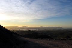 Blick auf die Ebene zwischen Nijar und der Sierra de Cabo de Gata