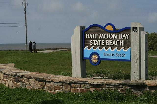 Half Moon Bay.