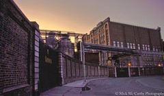 Guinness Factory Sunrise (re-edit) (MickMc.C) Tags: city ireland dublin black sunrise canon arthur gate factory guinness stuff jamess stout