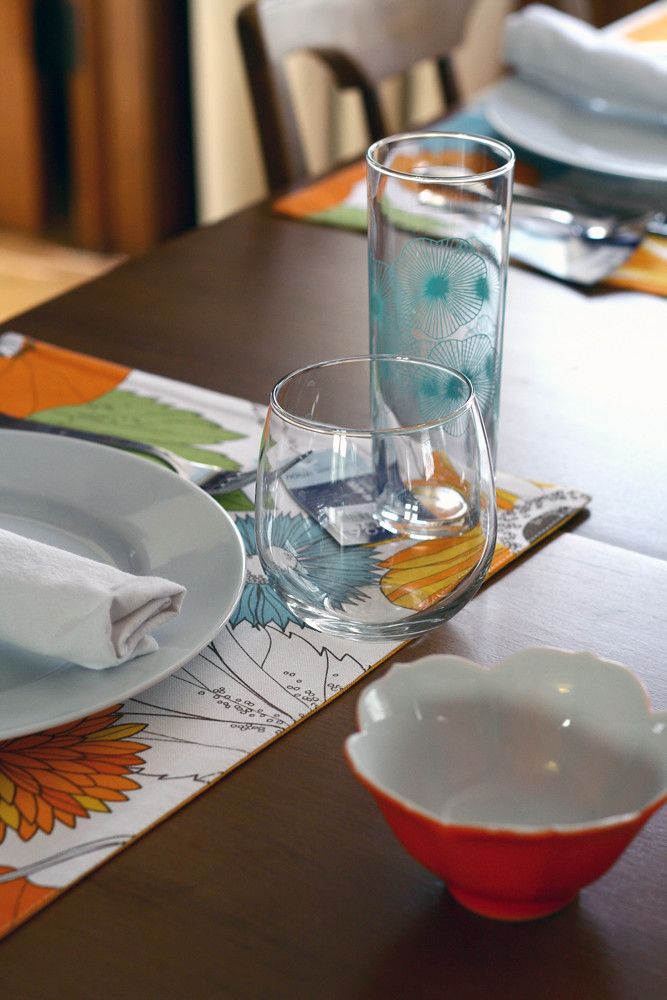 Our new spring time placemat's!
