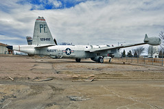 Lockheed SP-2E Neptune (skyhawkpc) Tags: nikon colorado aircraft aviation pueblo navy co lockheed naval neptune usnavy usn patrol allrightsreserved d90 vp19 p2v5 sp2e pwam garyverver puebleweisbrodaircraftmuseum 128402 pe204