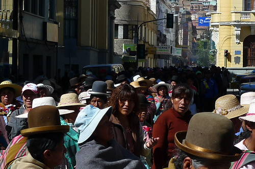 Protest March - Oruro, Bolivia