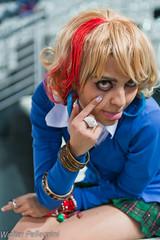 Gals! (Walter Pellegrini) Tags: portrait italy anime rome roma comics costume nikon italia cosplay manga games videogames convention fumetti cosplayer gals fiera fumetto 2011 repotage d700