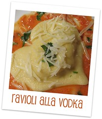 Heart Ravioli alla Vodka Sauce