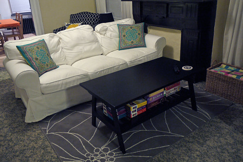 Coffee Table and Rug