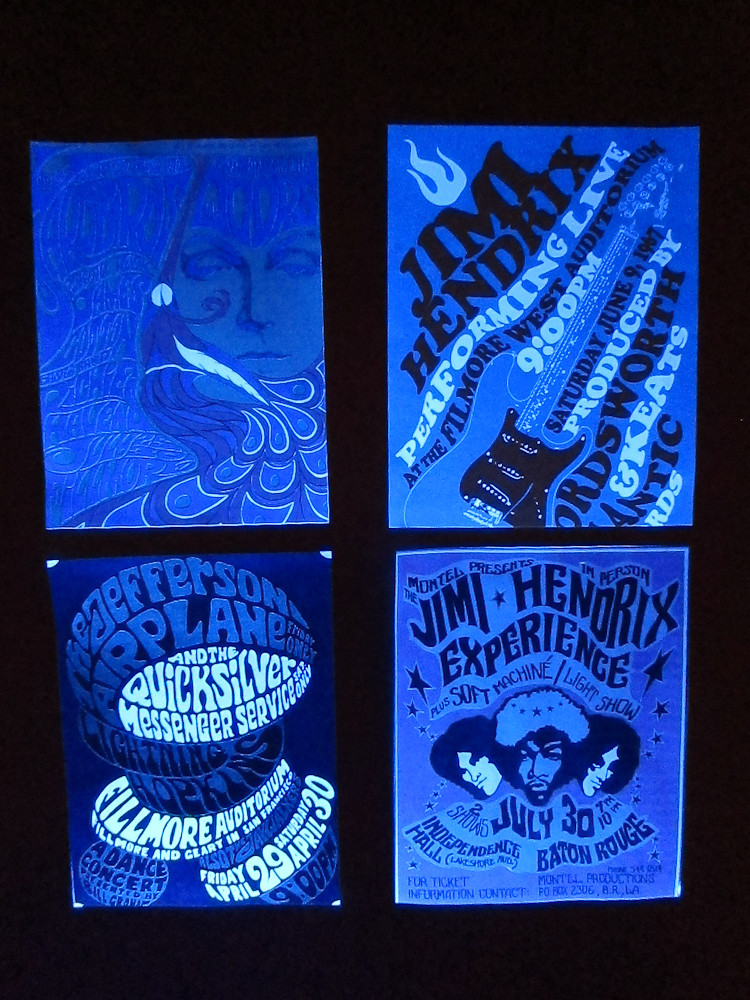 Black Light Posters