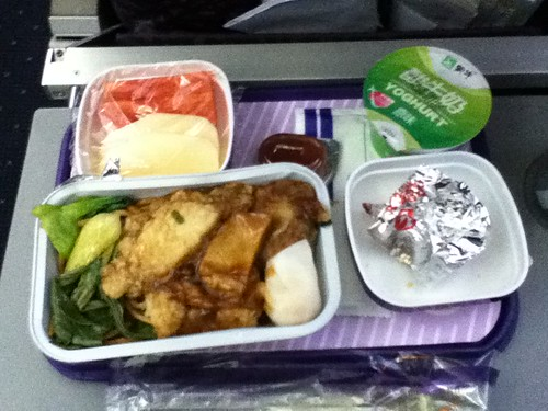 2011-02-25 - China Eastern - 01 - Airline food