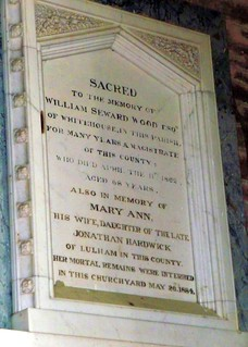 Wm. Wood Memorial, St Bartholomew's Church, Vowchurch