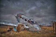 Ag Crash Monument (rseidel3) Tags: monument clouds plane nikon crash hdr cloudysky planecrash chicagosuburbs nikond5000