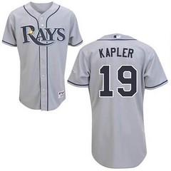 Tampa Bay Rays #19 Scott Kazmir Grey Road Jersey (Terasa2008) Tags: jersey tampabayrays  cheapjerseyswholesale cheapmlbjerseys mlbjerseysfromchina mlbjerseysforsale cheaptampabayraysjerseys