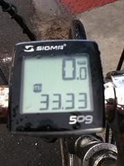 33.33 miles
