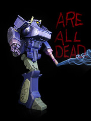 Masterpiece Shockwave (are all dead) (frenzy_rumble) Tags: camera transformer icestorm hook custom commission fr sunstorm autobot reflector spyglass scavenger viewfinder mixmaster decepticon scrapper lacquer kitbash devastator longhaul bonecrusher spectro combiner enamels houseofkolors frenzyrumble frenzyrumblecom procustomizers peaugh seekershockwave
