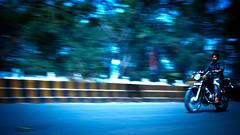 1/20sec pan of a bike (swarat_ghosh) Tags: auto road family india motion 120 bike race speed asian movement nikon asia track jeep scooter racing motorbike motorcycle handheld pan 1855mm f56 nikkor hyderabad panning 3wheels slowshutterspeed 2wheels d3000