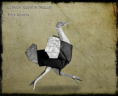 Avestruz de Quentin Trollip (Pere Olivella) Tags: bird origami ostrich ave avestruz pajaro papiroflexia trollip quentintrollip