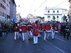 Rom 26.03.2011.: Sambatrommler bei der Demo