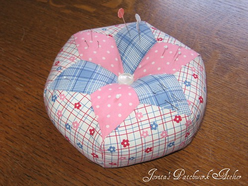 Hand-Pieced Pin Cushion
