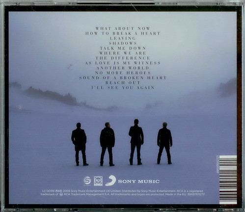 WESTLIFE-WHERE WE ARE 1