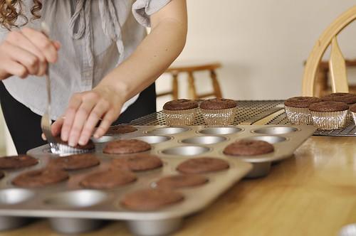 Nutella Cupcakes