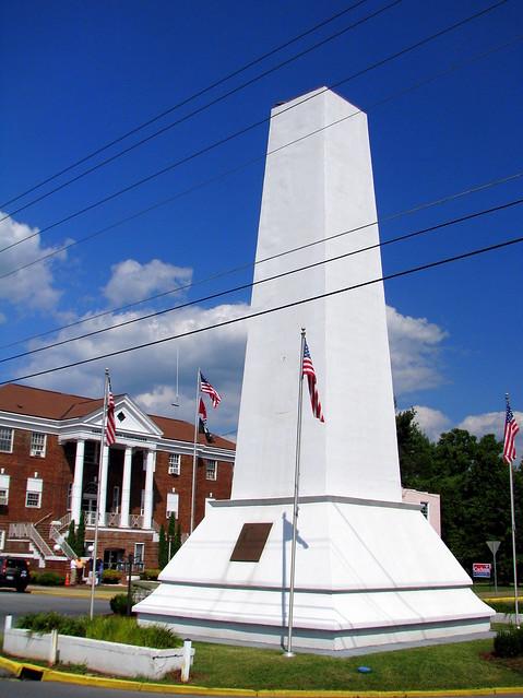 Elizabethton Soldiers Monument