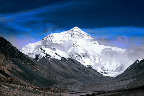 Mount Everest (by: Steffen Perneborg, creative commons license)