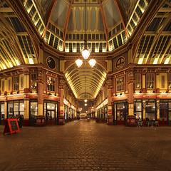 London Leadenhall Market (david.bank (www.david-bank.com)) Tags: uk england london architecture canon leadenhallmarket stitch stones shift cobble tilt tse 17mm