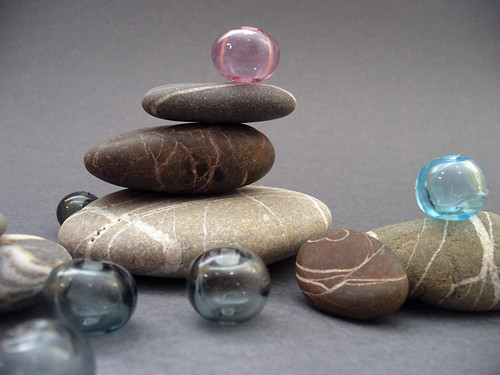 hollow transparent glass beads