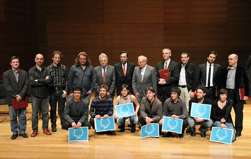 GANADORES Y JURADO DEL CONCURSO PERMANENTE DE JÓVENES INTÉRPRETES DE JUVENTUDES MUSICALES DE ESPAÑA - VALLADOLID ABRIL 2011